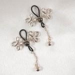 Brandebourgs Knot Non-Piercing Nipple Rings
