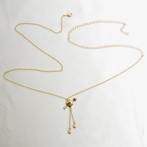 Cupid Arrow Through Heart Waist Chain
