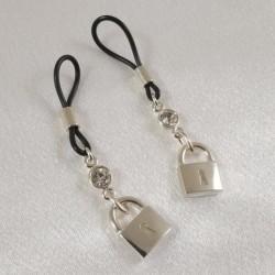 Love Locks Non-Piercing Nipple Rings