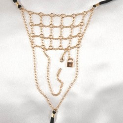 Men's Chainmail G-String with PadLock