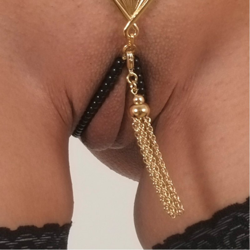 CUTE string anal beads the younger