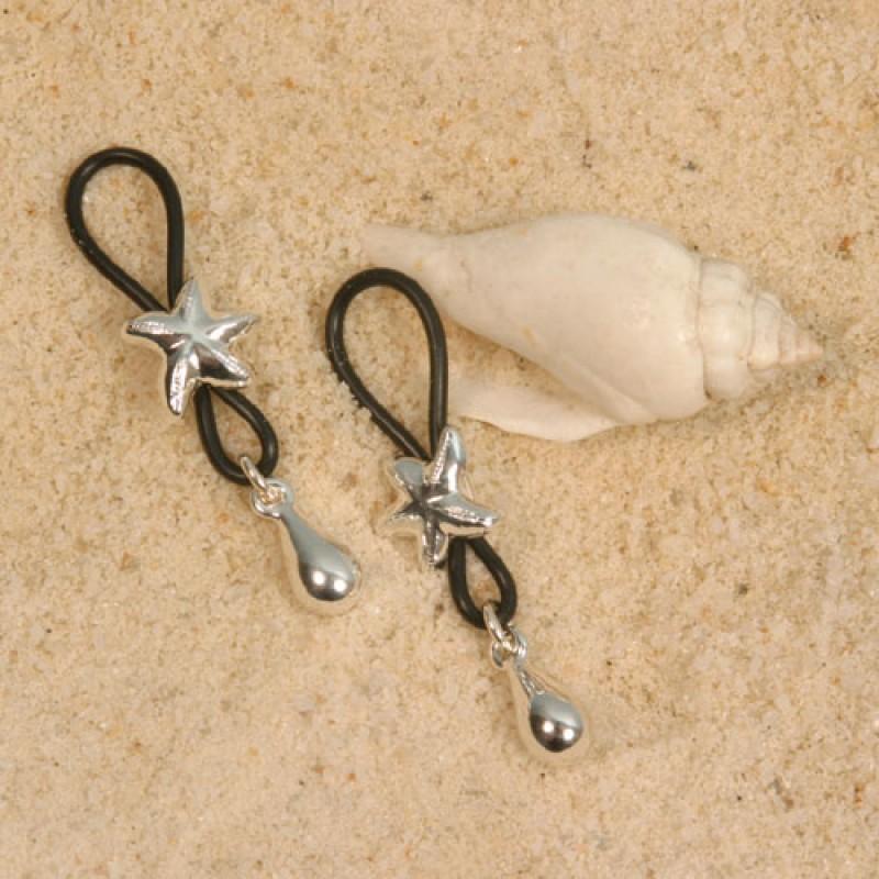 Starfish Non Piercing Nipple Rings
