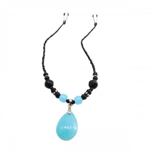Bijoux de Nip Blue Pendant Sway