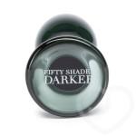 Fifty Shades Darker Something Darker Glass Butt Plug